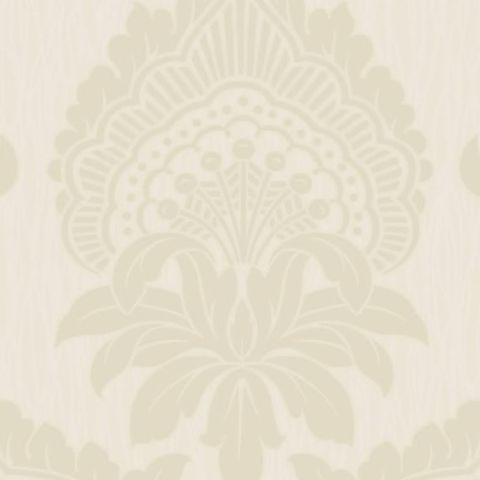 Opus Siena Heavyweight Vinyl Wallpaper 35164 Cream Cotton