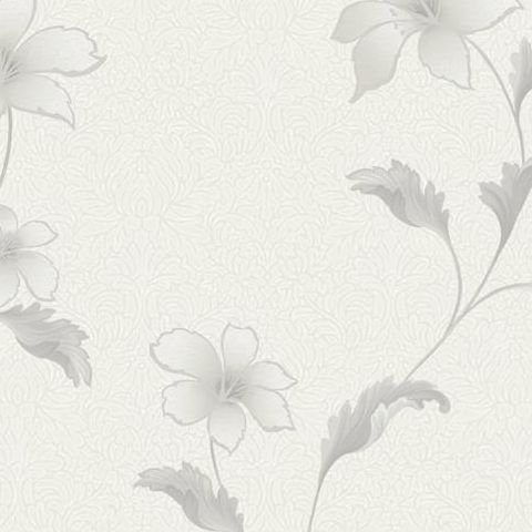Holden Opus Floriana Floral Wallpaper 35301 Dove