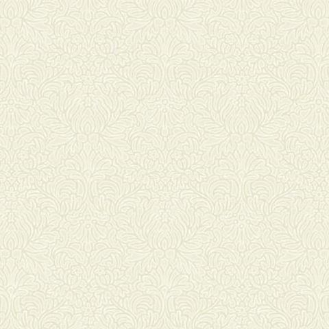 Holden Opus Floriana Plain Texture Wallpaper 35310 Cream