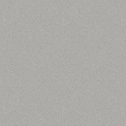 Holden Opus Floriana Plain Texture Wallpaper 35312 Grey