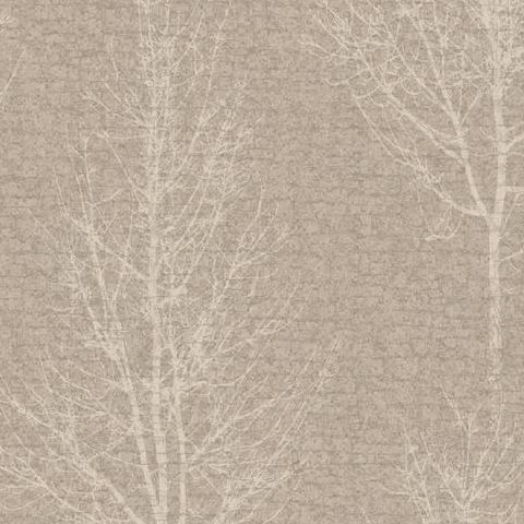 Holden Opus Wallpaper Hadrian Tree 35461 Taupe