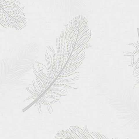 Holden Opus Wallpaper Marcia Feather 35471 Grey