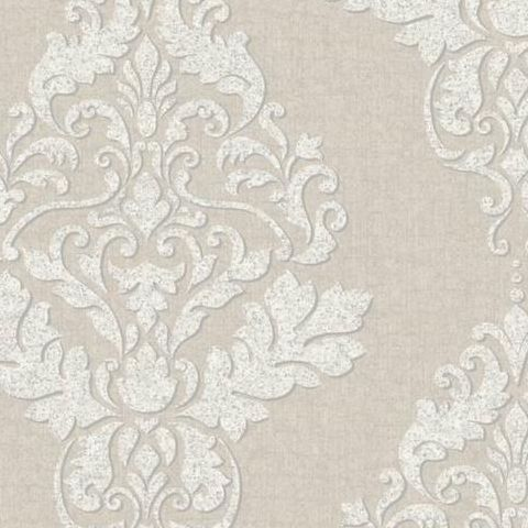 Holden Opus Wallpaper Hadrian Damask 35506 Cream