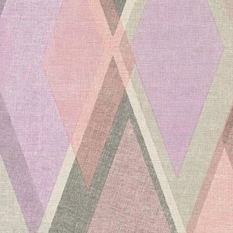 AS Creations Pop Colours Wallpaper Deco Diamond 355911 Pink/Lilac