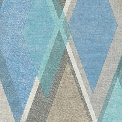 AS Creations Pop Colours Wallpaper Deco Diamond 355912 Teal/Aqua
