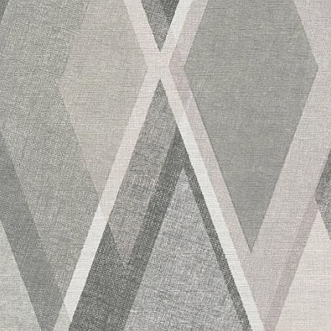 AS Creations Pop Colours Wallpaper Deco Diamond 355914 Grey/Silver