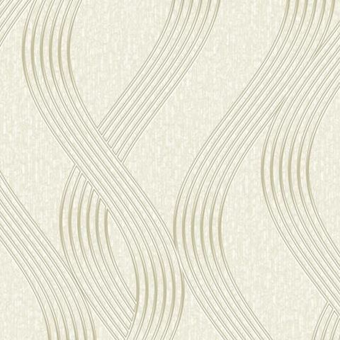Opus Sofia Heavyweight Italian Vinyl Wallpaper 35640 Cream
