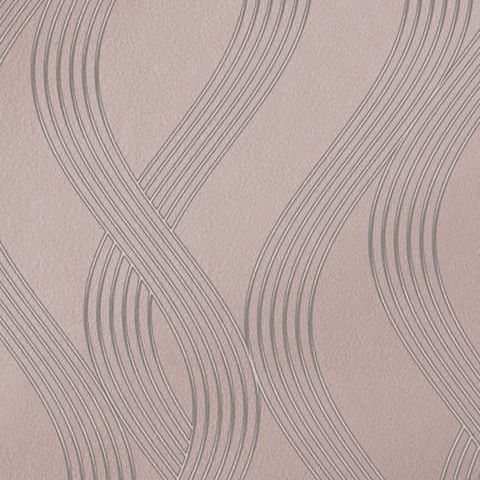 Opus Sofia Heavyweight Italian Vinyl Wallpaper 35642 Rosegold