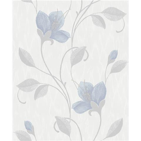 Holden Opus Juliet Wallpaper 35940 Blue/Pale Grey