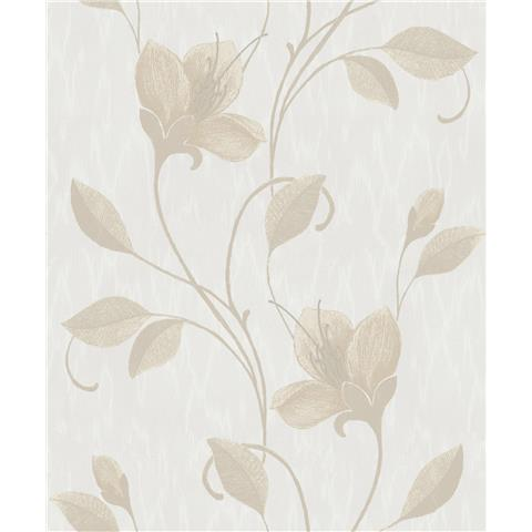 Holden Opus Juliet Wallpaper 35942 Gilver/Pale Grey