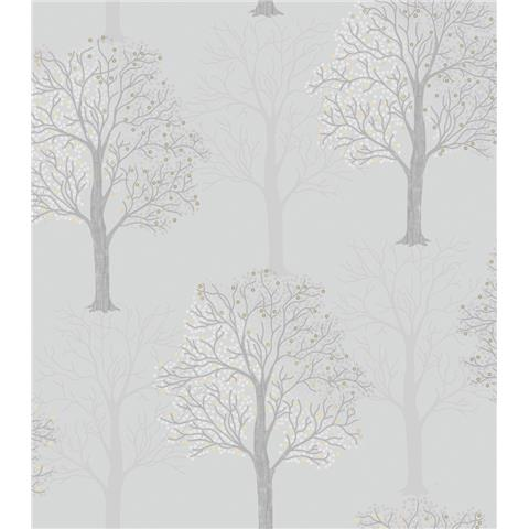 HOLDEN OPUS ITALIAN VINYL WALLPAPER ORNELLA 35960 light slate