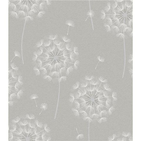 OPUS Allora Dandelion HEAVYWEIGHT ITALIAN VINYL WALLPAPER 36001 grey