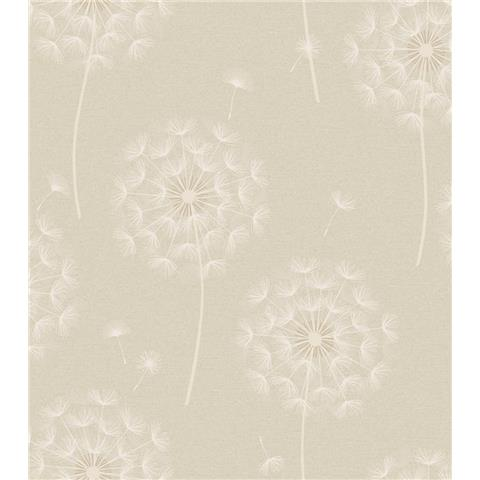 OPUS Allora Dandelion HEAVYWEIGHT ITALIAN VINYL WALLPAPER 36002 cream