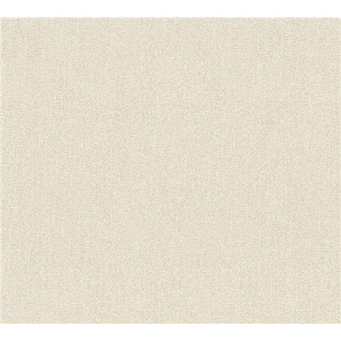 AS Creations Jewel II Textured Vinyl Plain Wallpaper 36877-4 Cream