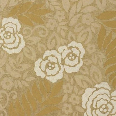 Thibaut Jubilee Yvette Wallpaper T4929 Metallic Gold