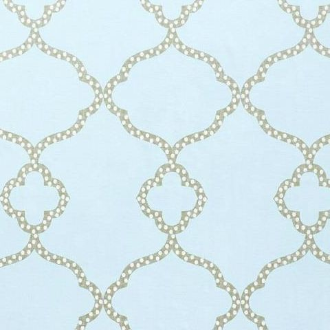 Thibaut Menswear Gibralter Trellis Wallpaper T4954 Light Blue