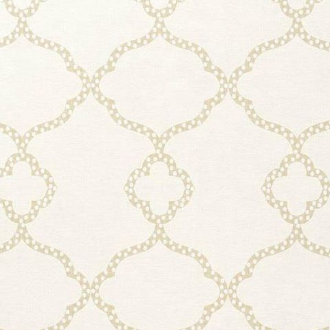 Thibaut Menswear Gibralter Trellis Wallpaper T4955 Off White