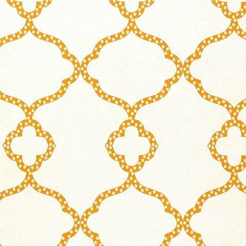 Thibaut Menswear Gibralter Trellis Wallpaper T4959 Orange