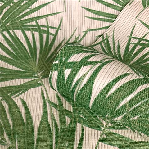 Zambaiti Parati Aurora palm Wallpaper 4990 green