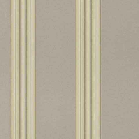 Regency Stripe Vinyl Wallpaper Taupe 516739
