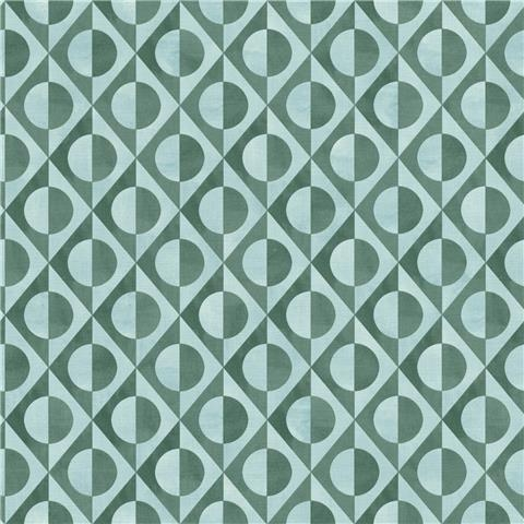 Rasch Club Botanique Eclipse Wallpaper 538656 duck egg/emerald