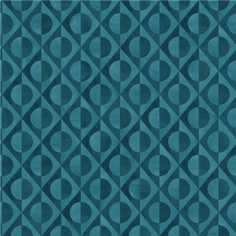 Rasch Club Botanique Eclipse Wallpaper 538663 indigo/blue