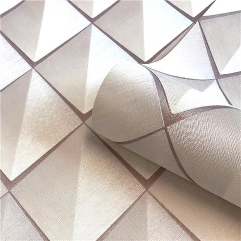 Belgravia Callisto WALLPAPER 6002 rose gold
