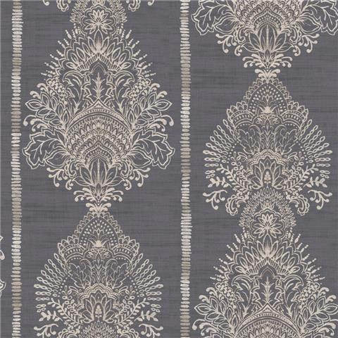 Arthouse Journeys Silk Road Wallpaper 610606 Charcoal