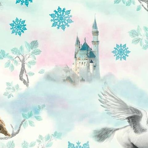 Arthouse Imagine Fairytale Unicorns Wallpaper 667800 Ice Blue