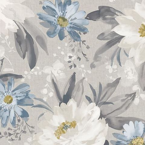 Arthouse Bloom Wallpaper Painted Dahlia 676105 Grey