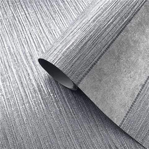 MURIVA COUTURE WALLCOVERING Serena plain 701456 steel