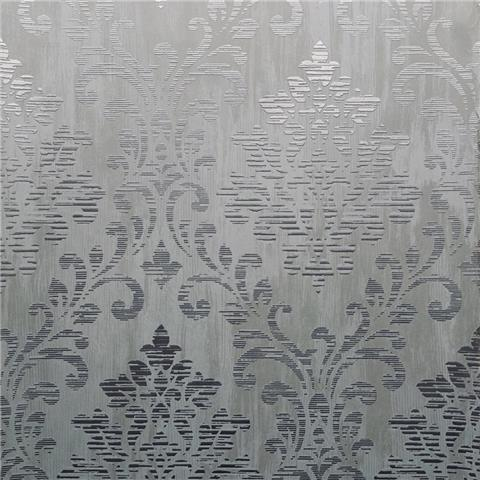 Muriva Couture Wallcovering Charice Damask 702003 grey