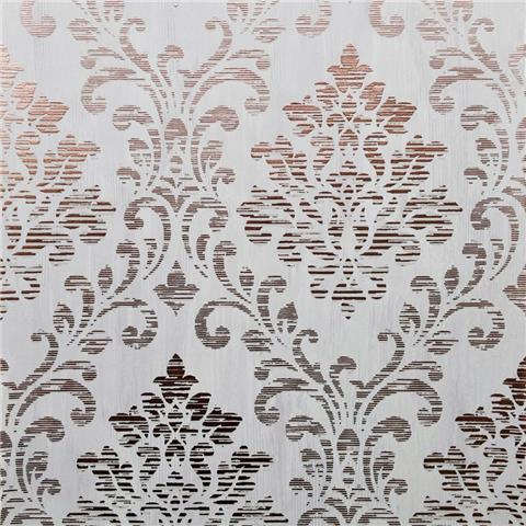 Muriva Couture Wallcovering Charice Damask 702004 rose gold