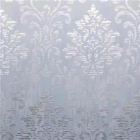 Muriva Couture Wallcovering Charice Damask 702005 blue