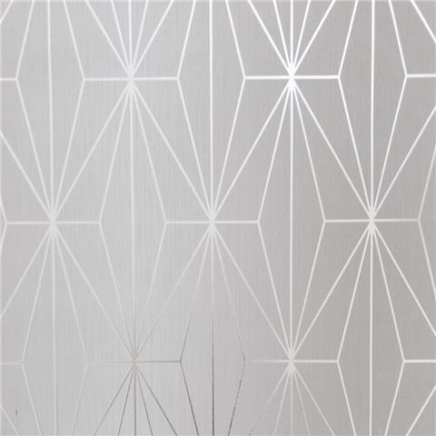 MURIVA COUTURE WALLCOVERING kayla 703010 dove/silver