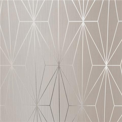 MURIVA COUTURE WALLCOVERING kayla 703011 fawn/silver