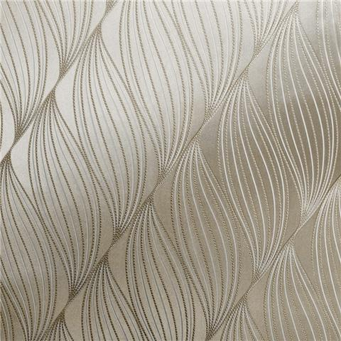 Muriva Couture Wallcovering Onda 703022 champagne