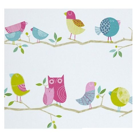 Harlequin What a Hoot Wallpaper 70515