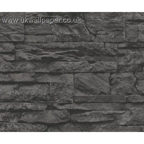 Wood and Stone Natural Look Wallpaper 7071-23