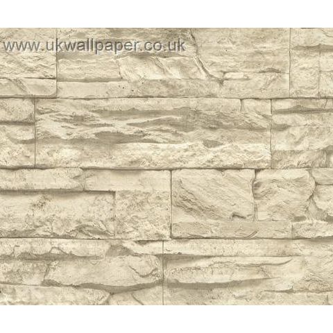 Wood and Stone Natural Look Wallpaper 7071-30