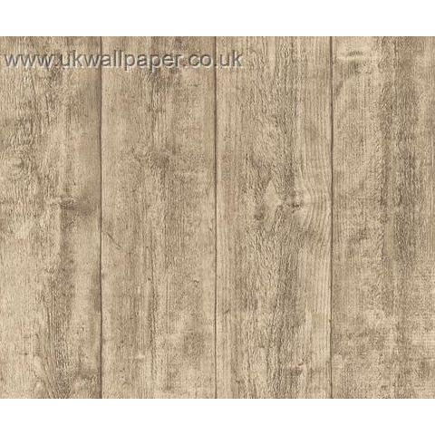 Wood and Stone Natural Look Wallpaper 7088-16