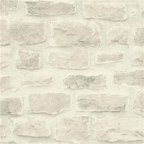 Barbara Becker Whitewash Brick Wallpaper 860603