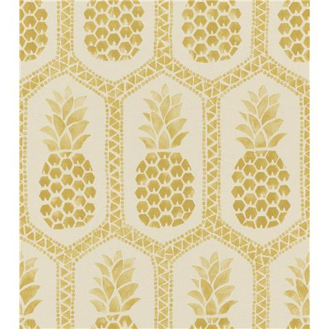 Barbara Becker African Soul Pineapple Wallpaper 862102
