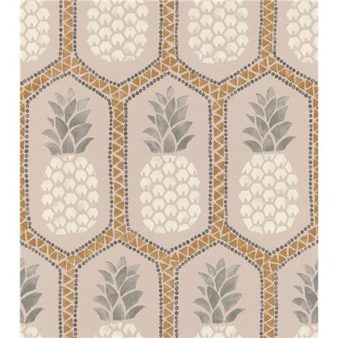 Barbara Becker African Soul Pineapple Wallpaper 862119