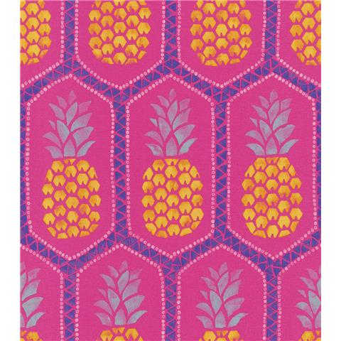 Barbara Becker African Soul Pineapple Wallpaper 862126