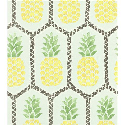 Barbara Becker African Soul Pineapple Wallpaper 862133