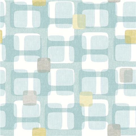 ARTHOUSE RETRO HOUSE WALLPAPER block 902308