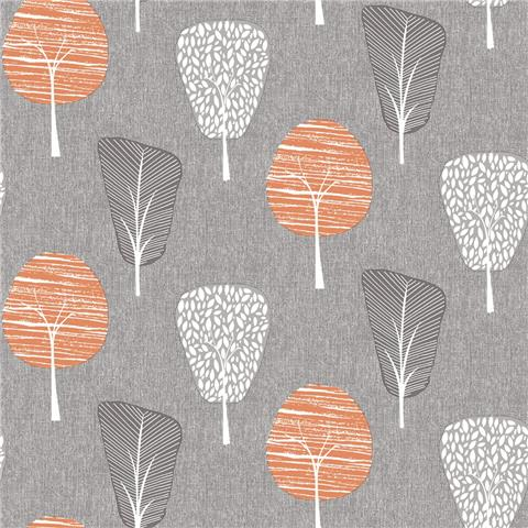 ARTHOUSE RETRO HOUSE WALLPAPER Tree 902400