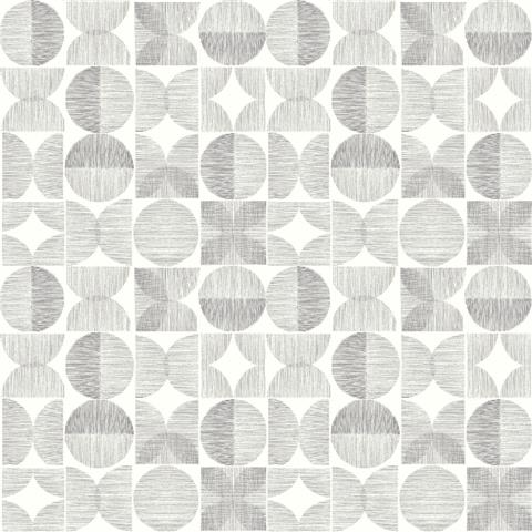 ARTHOUSE RETRO HOUSE WALLPAPER circle 902402