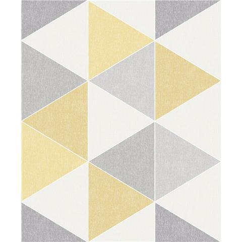 Arthouse Retro House Wallpaper Scandi Triangle